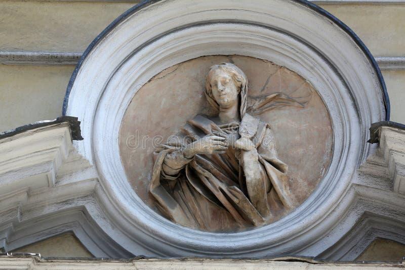 Santo Lucía fotografía de archivo libre de regalías