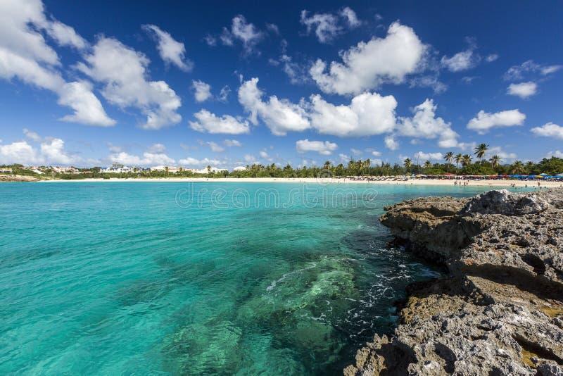 Santo Martin Sint Maarten Beaches fotos de archivo