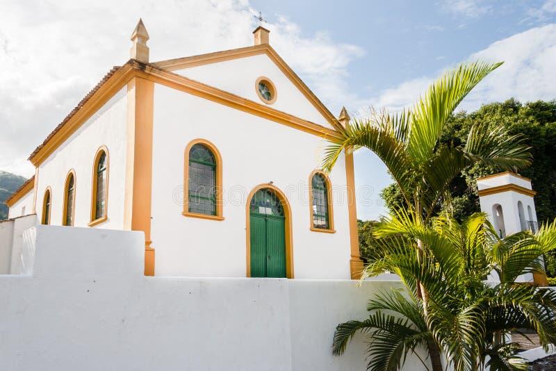 Santo Michael Archangel Church Biguaçu fotografía de archivo libre de regalías