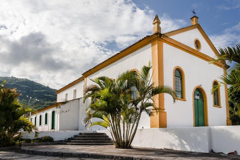 Santo Michael Archangel Church Biguaçu foto de archivo libre de regalías
