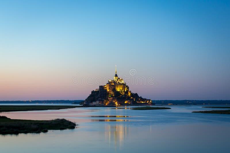 Santo Miguel, Normandía, Francia de Mont fotos de archivo libres de regalías