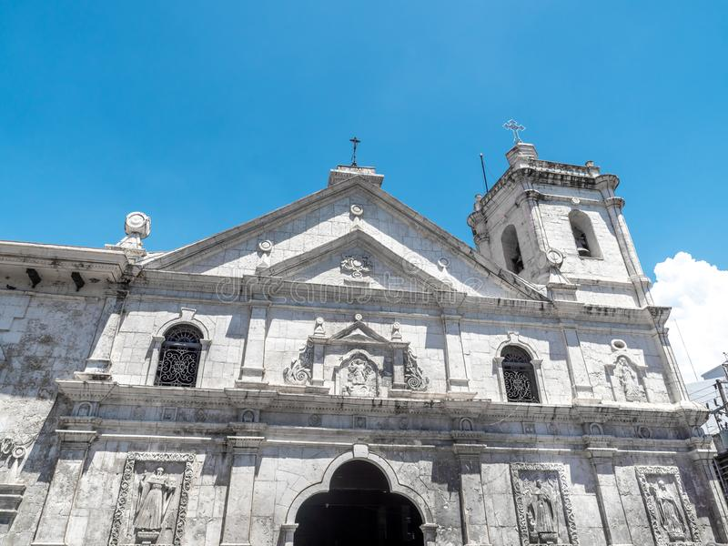 Santo nino church in cebu city royalty free stock photo