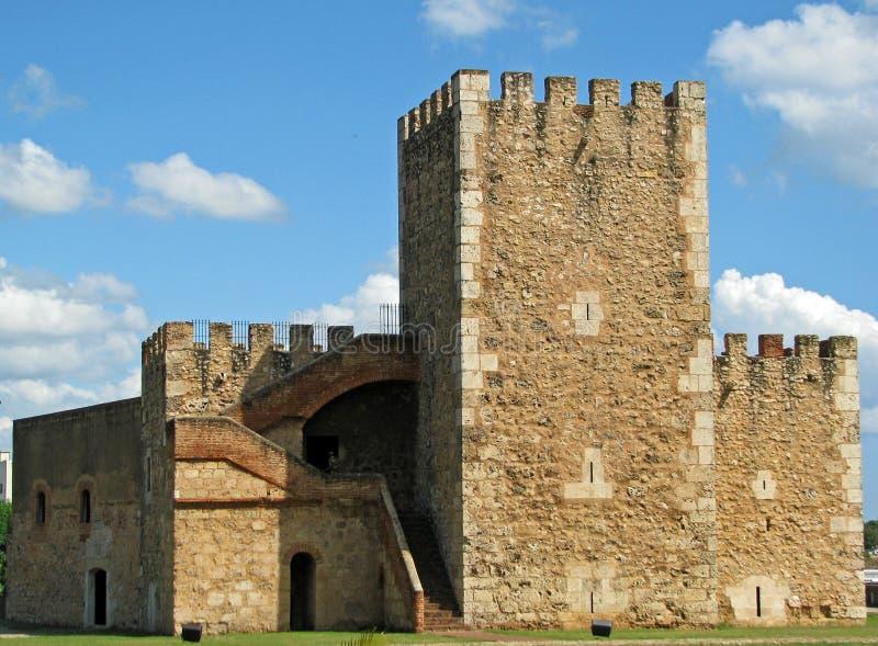 santo ozama φρουρίων του Domingo στοκ εικόνες