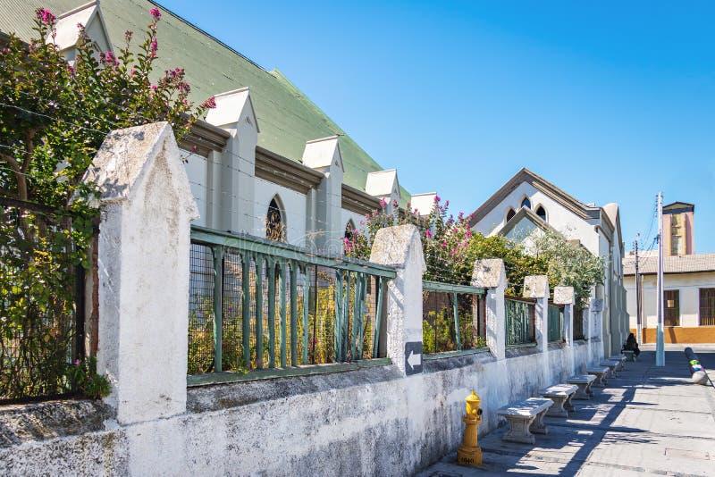 Santo Pauls Cathedral Anglican Church - Valparaiso, Chile fotos de archivo libres de regalías