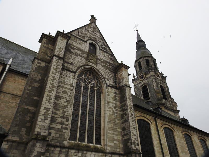 Santo Peters Church - Puurs - Bélgica imagen de archivo