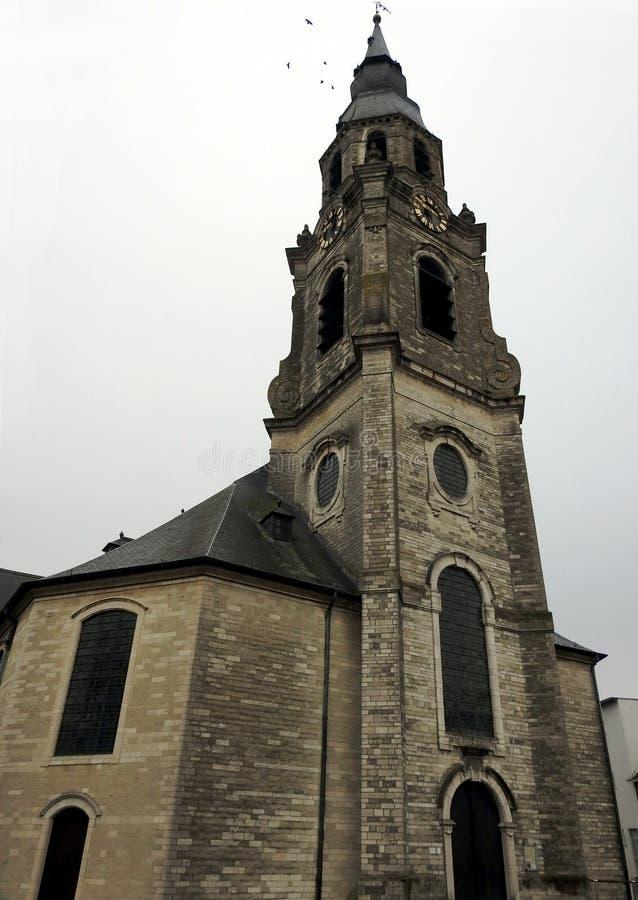 Santo Peters Church - Puurs - Bélgica imagenes de archivo