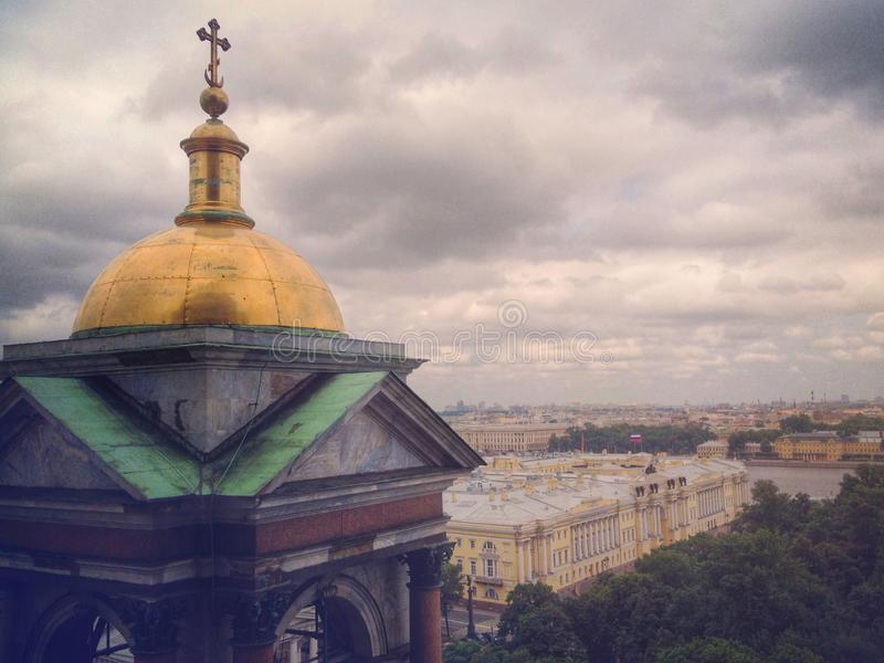 Santo Petesburg imagenes de archivo