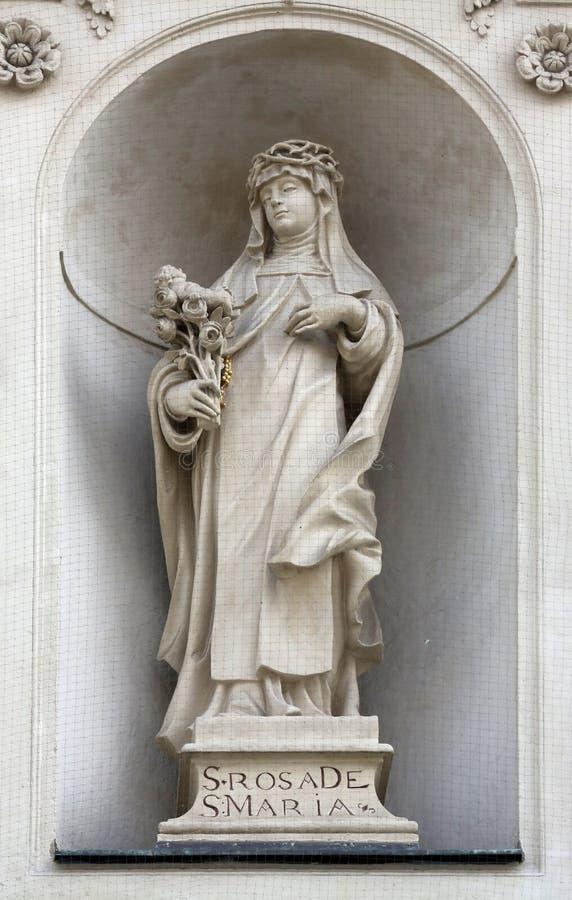 Santo Rose de Lima fotografía de archivo libre de regalías