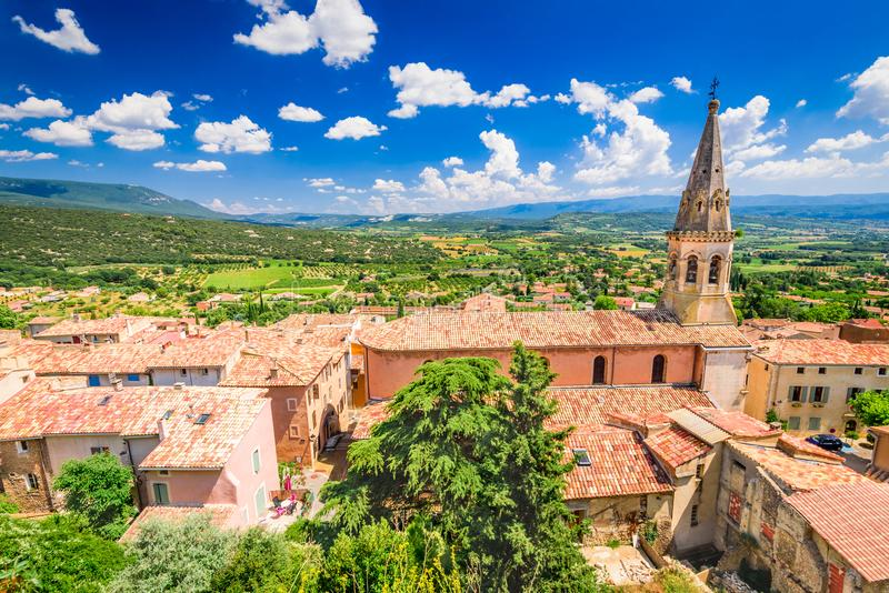 Santo-Saturnin-les-Apartamento Provence, Francia fotos de archivo libres de regalías