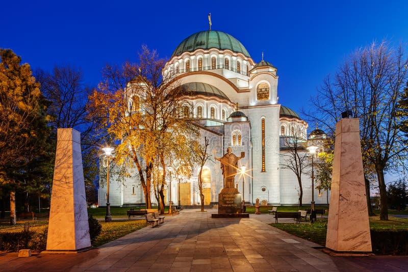 Download Santo Sava Temple imagen de archivo. Imagen de histórico - 41910795