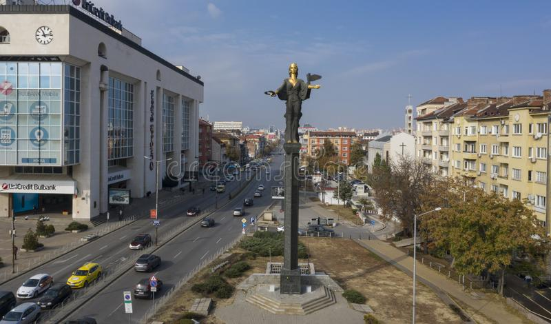 Santo Sophia, Bulgaria, el 21 de octubre de 2018 fotos de archivo
