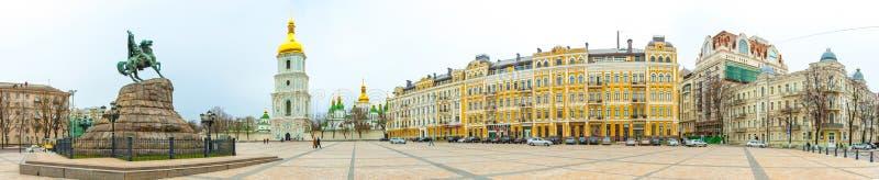 Santo Sophia Church en Kiev fotografía de archivo