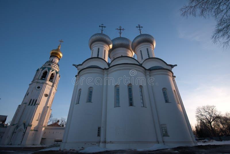 Santo Sophia de Vologda el Kremlin foto de archivo