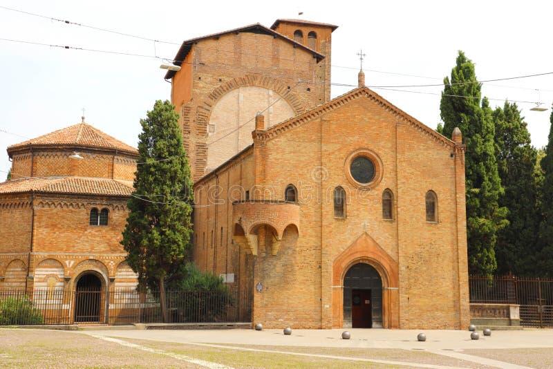 Santo Stefano Basilica na cidade medieval velha da Bolonha em Itália imagem de stock royalty free