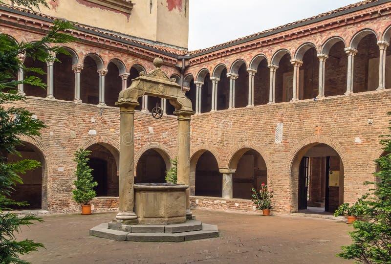 Santo Stefano Bologna royaltyfri fotografi