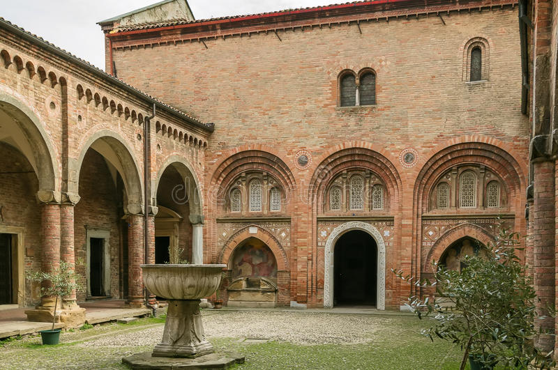Santo Stefano Bologna royaltyfri bild