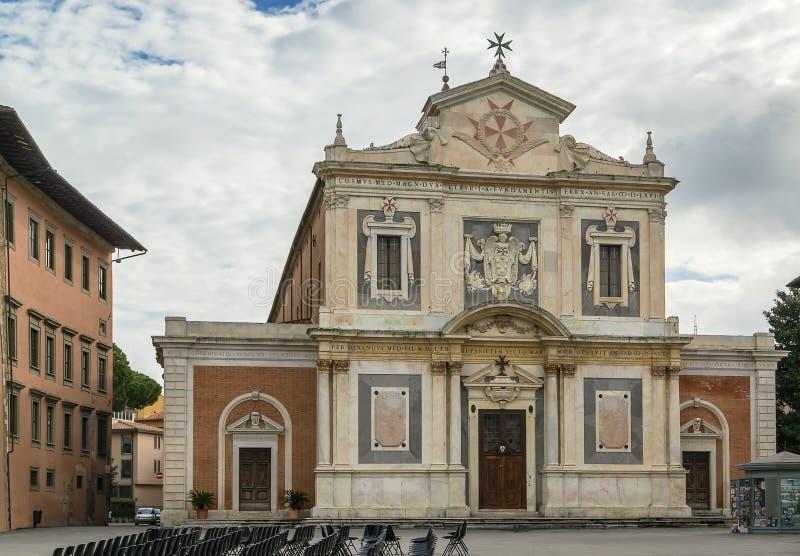 Santo Stefano dei Cavalieri, Pisa, Italien royaltyfri foto