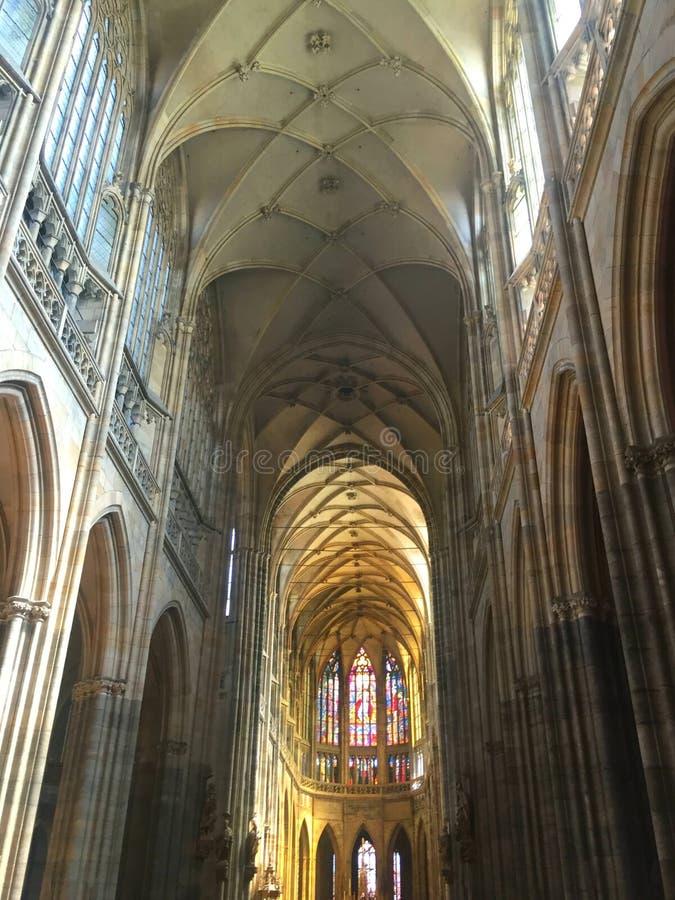 Santo Vitus Cathedral fotografía de archivo