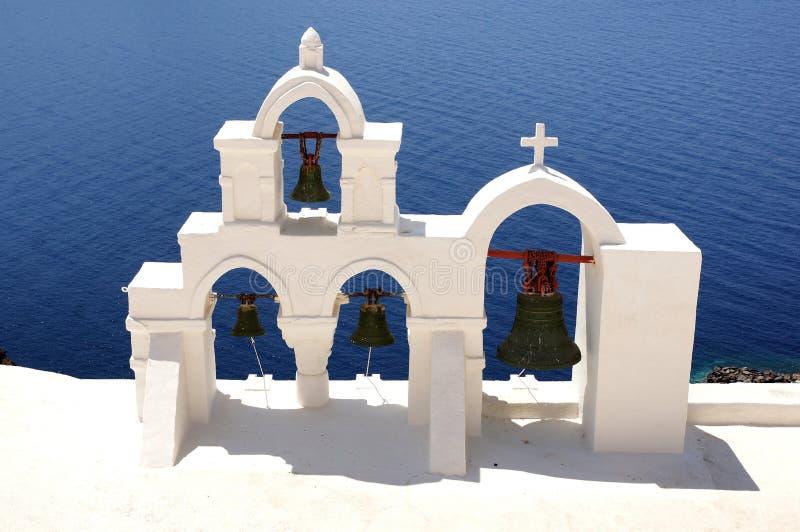 Santorini希腊 库存照片
