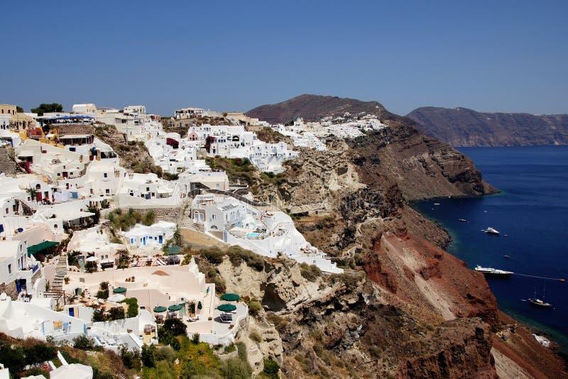 Santorini希腊 库存图片