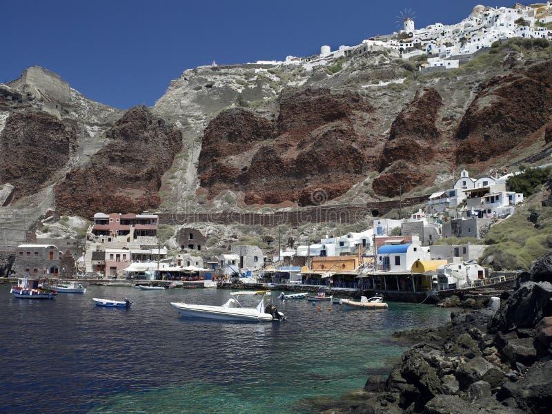 Santorini - îles grecques photos stock
