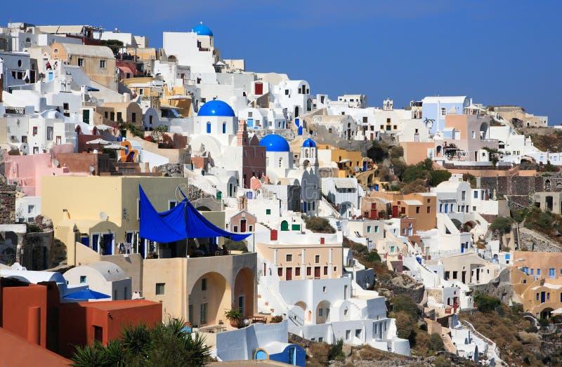 Download Santorini ö Grekland fotografering för bildbyråer. Bild av romantiker - 19790949