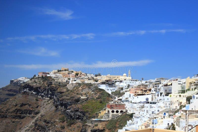 Download Santorini ö Grekland arkivfoto. Bild av utgångspunkt - 19790992