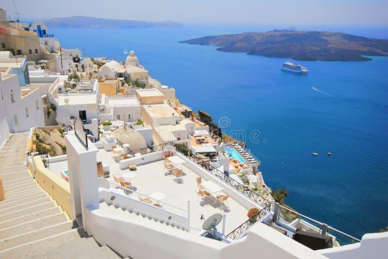 Download Santorini ö Grekland fotografering för bildbyråer. Bild av kultur - 19791039