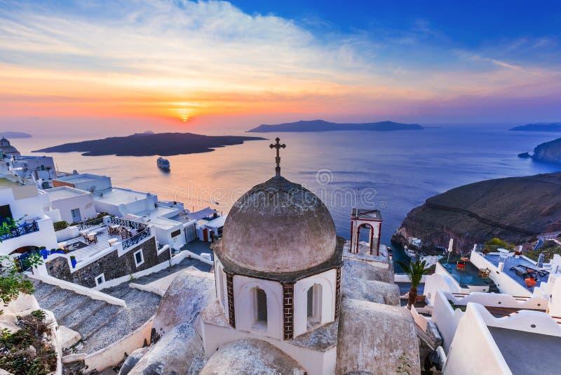 Santorini, Ελλάδα στοκ εικόνα