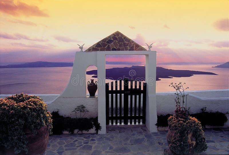 santorini νησιών στοκ φωτογραφίες