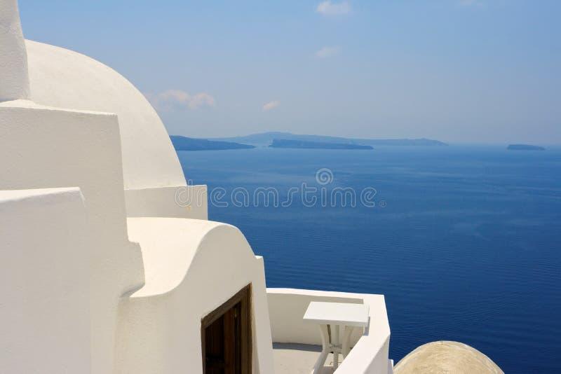 santorini Греции стоковые изображения