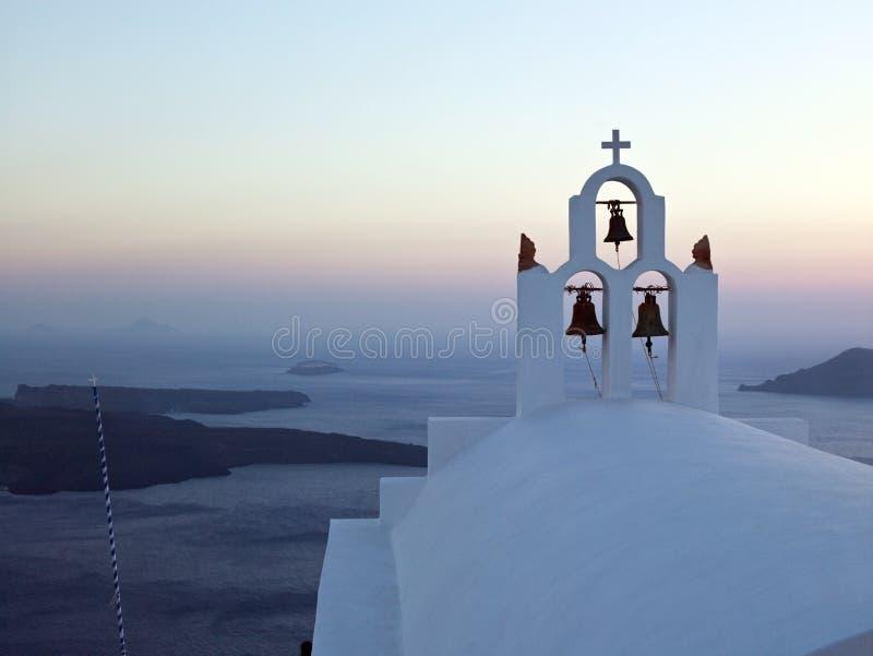 Santorini - Греция стоковые изображения