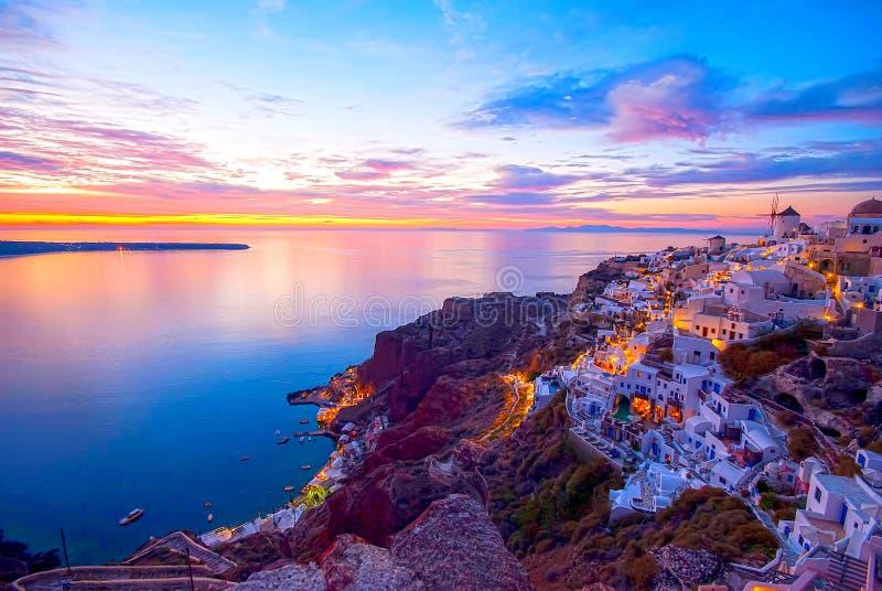 Santorini Греция стоковое изображение