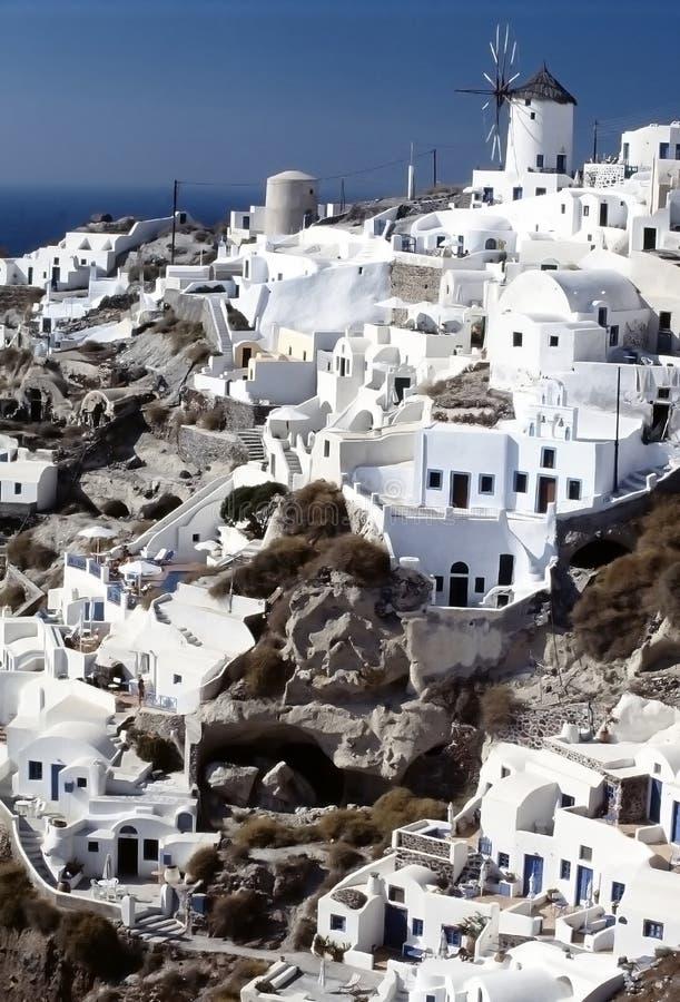 santorini острова cyclades греческое стоковые фотографии rf