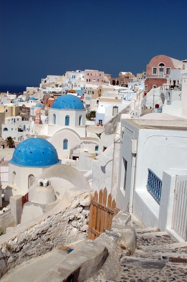 Download Santorini stock image. Image of domes, luxurious, paros - 1463999