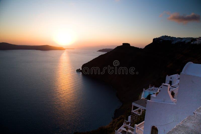 Santorini imagem de stock
