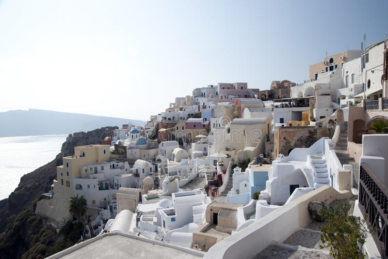 Download Santorini stock photo. Image of place, hotel, architecture - 17768390
