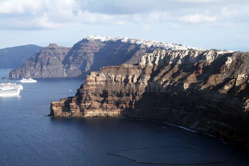 Download Santorini stockfoto. Bild von cyclades, lieferungen, reiseflüge - 27727652