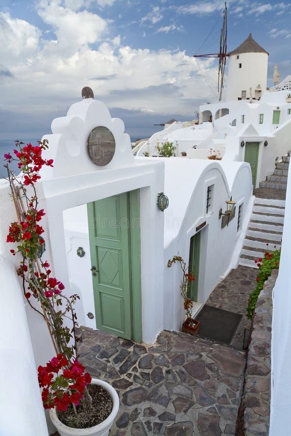 Santorini. royalty-vrije stock afbeeldingen