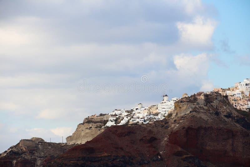 Santorini photos libres de droits