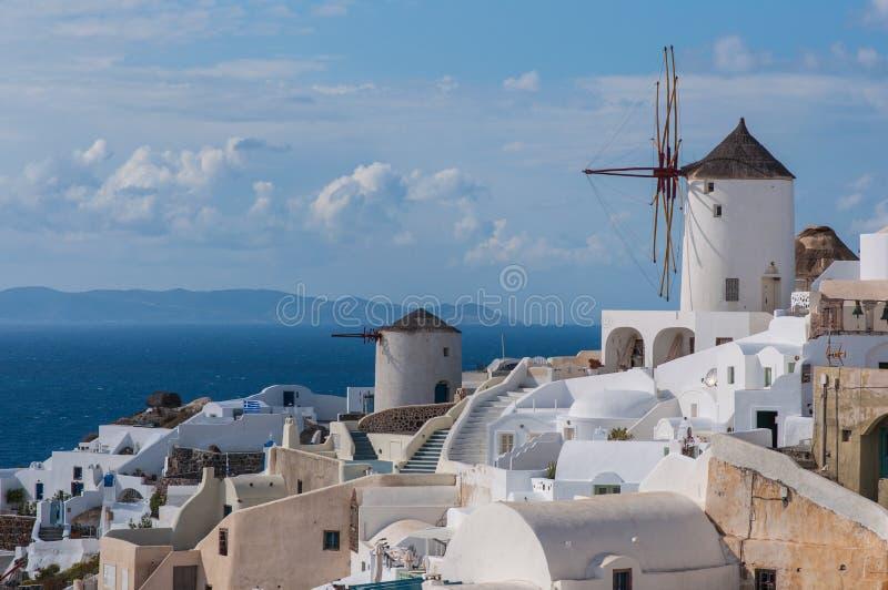Santorini stock foto's