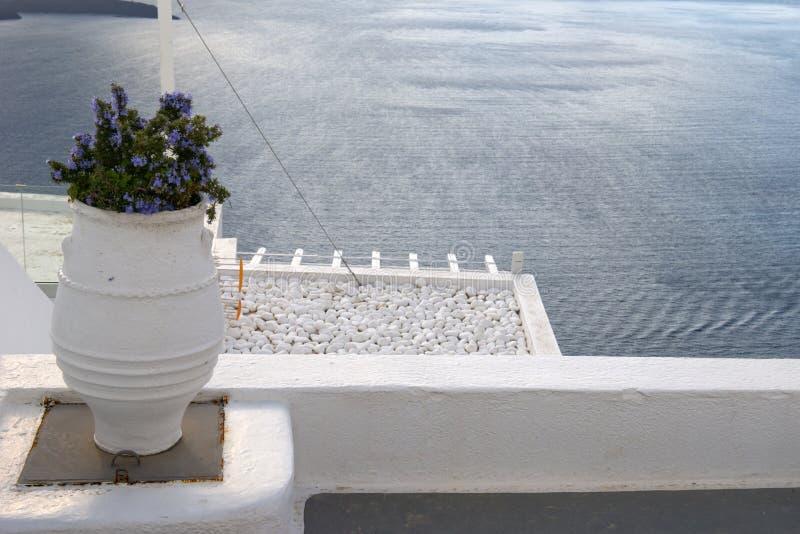 Santorini arkivfoton