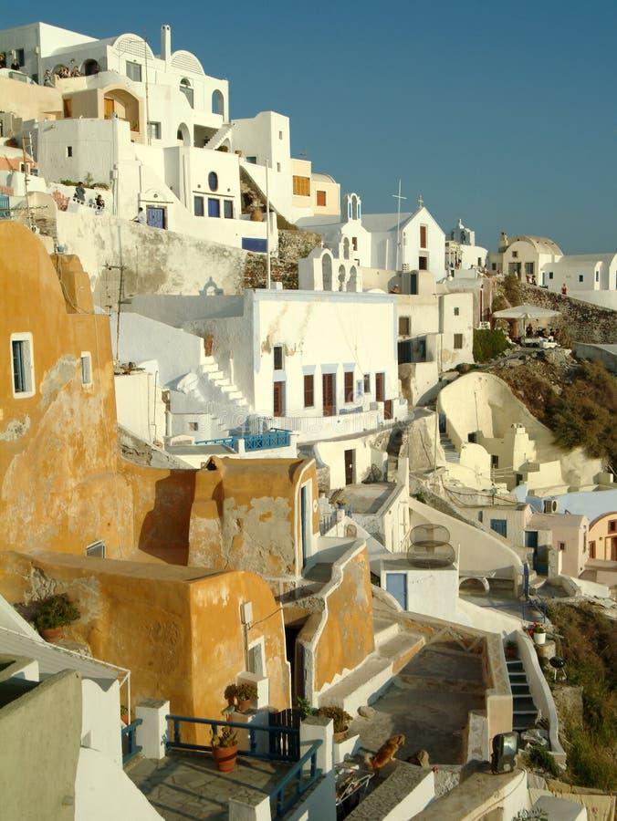 Santorini fotografía de archivo