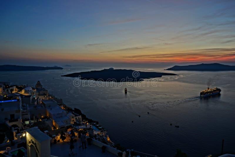 Santorini immagine stock