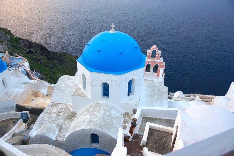 Santorini fotografie stock