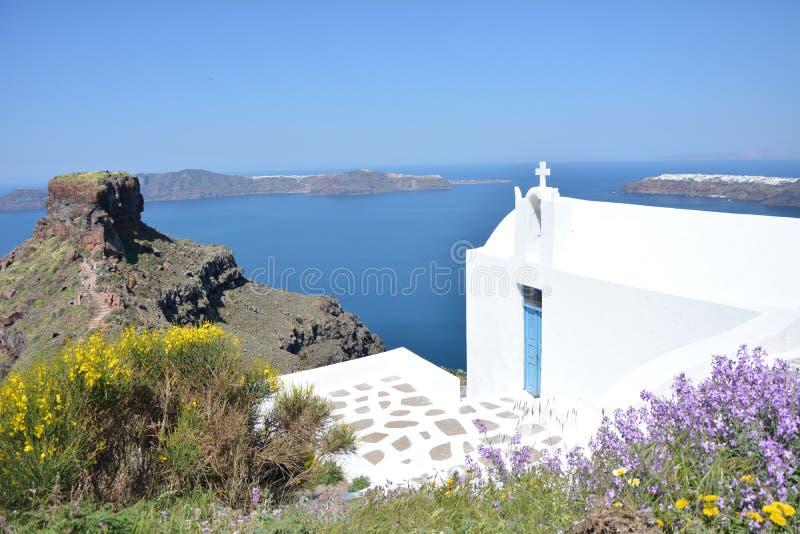 Santorini στοκ εικόνα με δικαίωμα ελεύθερης χρήσης