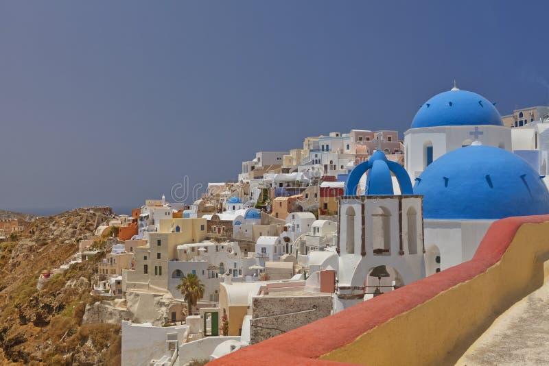 Download Santorini architecture stock image. Image of classic - 20430271