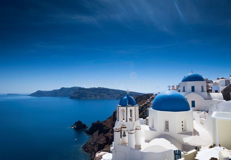 Santorini błogość obrazy royalty free
