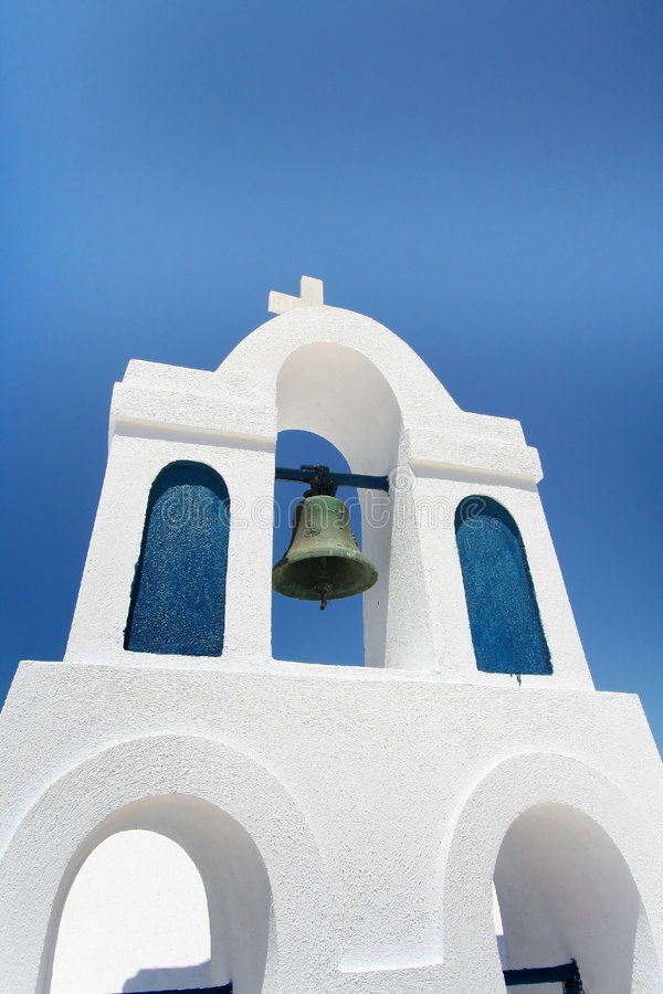 Download Santorini Church stock image. Image of bell, santorini - 6294143