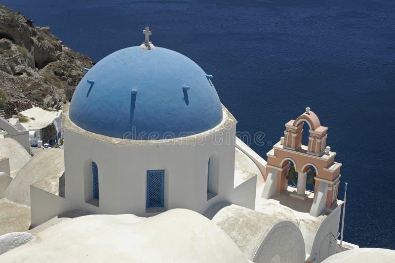 Santorini Church stock photos
